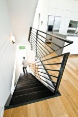 40 Awesome Modern Stairs Railing Design 2